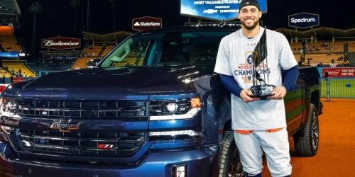 MLB World Series MVP 2018 Chevrolet Silverado Centennial Edition 720x340