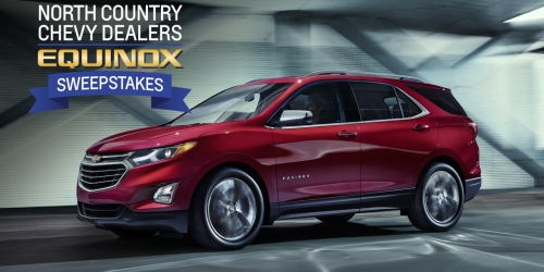 New Chevy SUV - Equinox - North Country Chevy Dealers